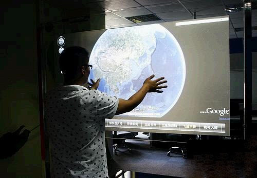 55 inch capacitive multi touch foil film 2 points touch screen film for glass table