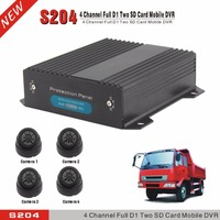LESHP S204 4CH Full D1 Dual Security Digital Card Mobile DVR With Wifi Function Support Delay