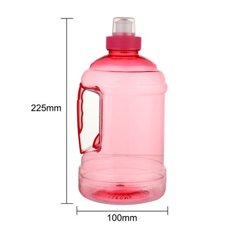 1000Ml Creative Plastic Barreled Sealing Water Bottles Handle Portable Students Water Jug For Traveling Biking Camping Lahore