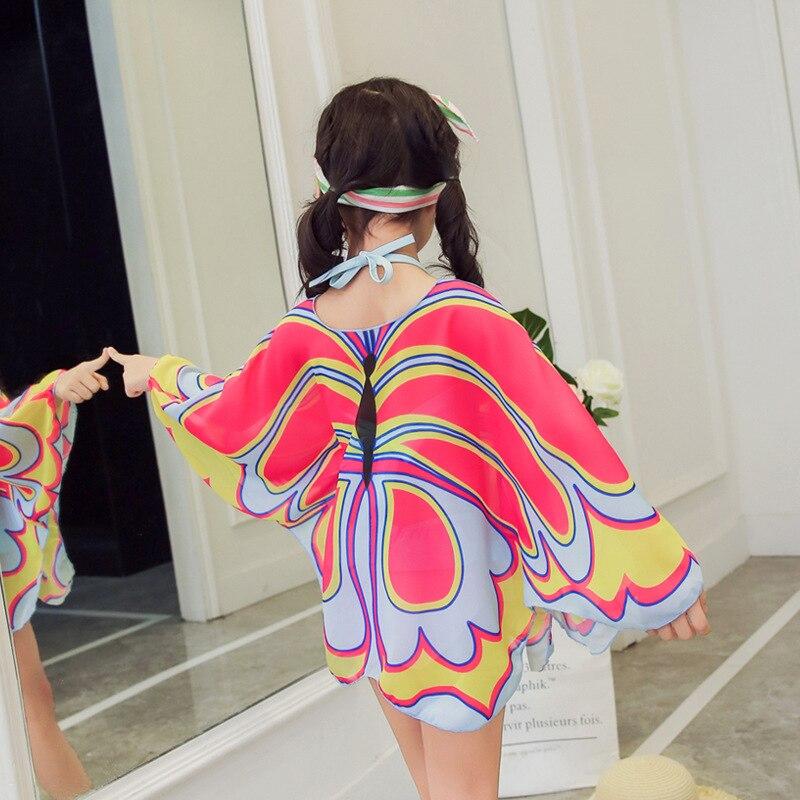 9a1e633f23c91 Bonitakinis Butterfly 3 Pieces Bikini Set for Cute Children Girls Bathing  Suit Summer Beachwear Lolita Swimsuits 3 14 Year old -in Bikinis Set from  Sports ...