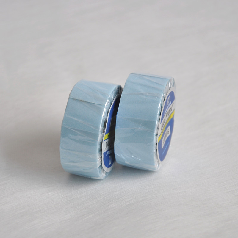 1.9cm(3/4inch)*3yards Strong Lace Front Support Tape Blue Liner Roll Tape For Lace Wig/Hair Extension/Toupee Adhesive Wig Tape