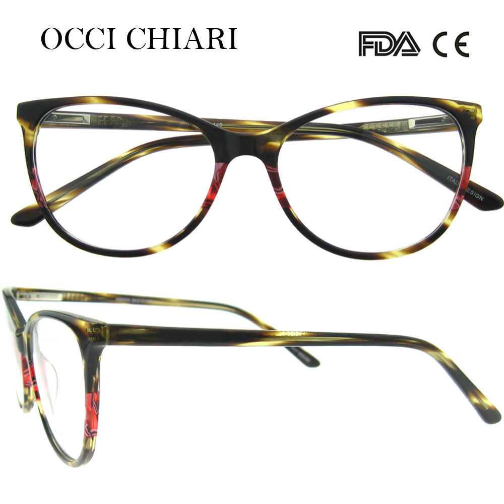 cdbb27dce54d 2018 New Arrival Fashion Italy Design AcetateComputer Glasses Anti-blue Ray  Optical Women Glasses Clear Eyewear Frames W-CAPETO