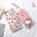 Мода Телефон Чехол Для iPhone 7 7 Plus 6 6 s Плюс Милые мультфильм Hello Kitty Серии Назад Shell Мягкие TPU Крышка Для iPhone 7 случае