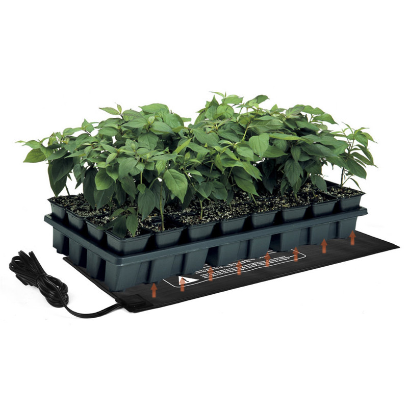 52x24cm Pvc Waterproof Seedling Heat Mat Seed Starting