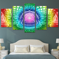 HD Printed psychedelic statues Painting children's room decor print poster picture canvas Free shipping/ny-2702