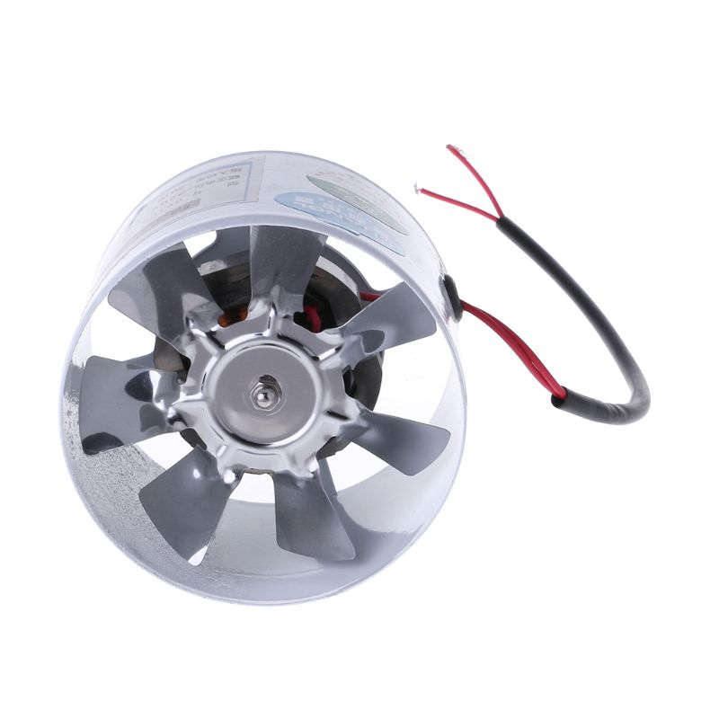 4 Inch Duct Air Ventilator Wall Window Pipe Exhaust Fan Metal Exhauster Ceiling Ventilation Fans Blower Duct Air Ventilator4