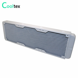 Image 2 - 100% new White 360mm Aluminum water cooling cooled radiator for computer CPU Laser industrial cooler Heat Exchanger