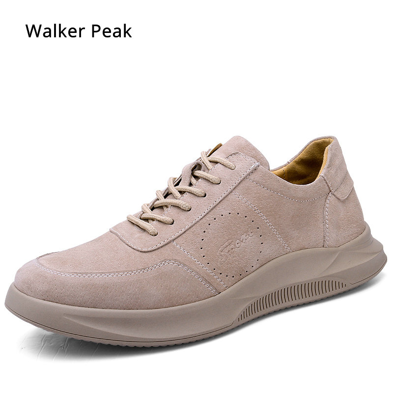 Brand Sneakers Genuine Leather Men Shoes Lace-Up Breathable Soft Autumn Casual Flats Shoes Simple Grey Style Fashion Walker peakBrand Sneakers Genuine Leather Men Shoes Lace-Up Breathable Soft Autumn Casual Flats Shoes Simple Grey Style Fashion Walker peak