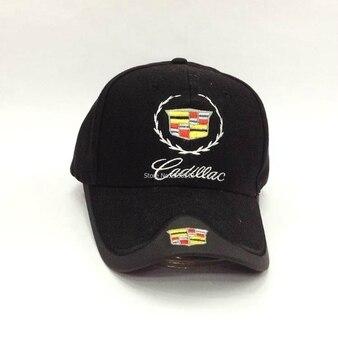 Black Blue Red White colour Headgear Wholesale summer Cadillac Car Profession Baseball Cap F1 Racing Cup Leisure Hat Logo Hat бейсболк мужские