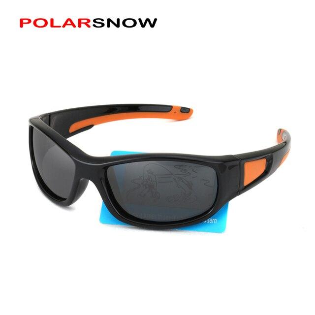 2363894d65 POLARSNOW Niños Gafas Polarizadas gafas de Sol de Protección UV400 Gafas de  Sol Para Niños Niños