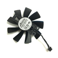 10 Pcs GA8202U GAA8B2U 100mm 4Pin Video Card Fan VGA Cooler Fans For Sapphire R9 380