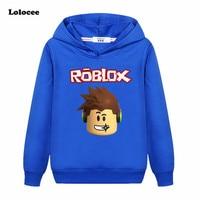 3-13Years 탑 Roblox t 셔츠 소년 후드 여자 스웨터 Bebes 아이 점퍼