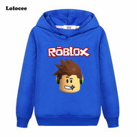 3 13Years Tops Roblox T Shirt Boys Hoodies Girls Sweatshirt Bebes Kids Jumper Fall Breakdance Clothes