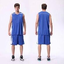 2016 new top mens sports basketball jersey set team sports blank uniforms running t shirt tracksuit