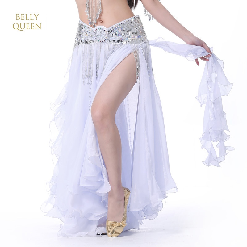2020 New Belly Dancing Clothing Long Maxi Skirts Lady Belly Dance Skirts Women Sexy Oriental Belly Dance Skirt Professiona