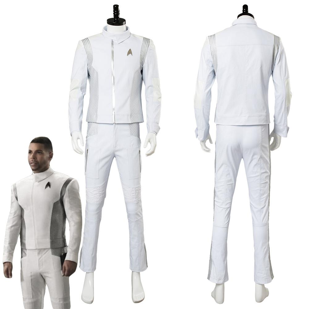 Star Discovery Dr. Nambue Cosplay Costume Adult Men Halloween Carnival Costumes