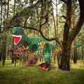 Fancytrader Мягкие Реалистичные Парк Юрского Периода Tyrannosaurus Rex Динозавра Плюшевые Игрушки Чучела Животных Куклы 70 см Х 40 см