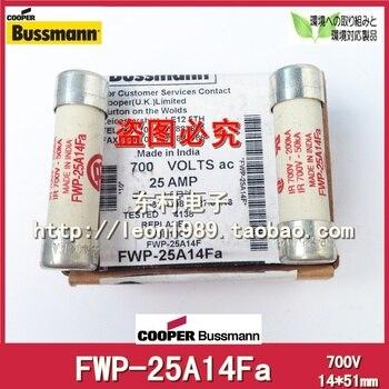 US Bussmann Fuses FWP-25A14F FWP-25A14Fa 25A 700V 14 * 51mm