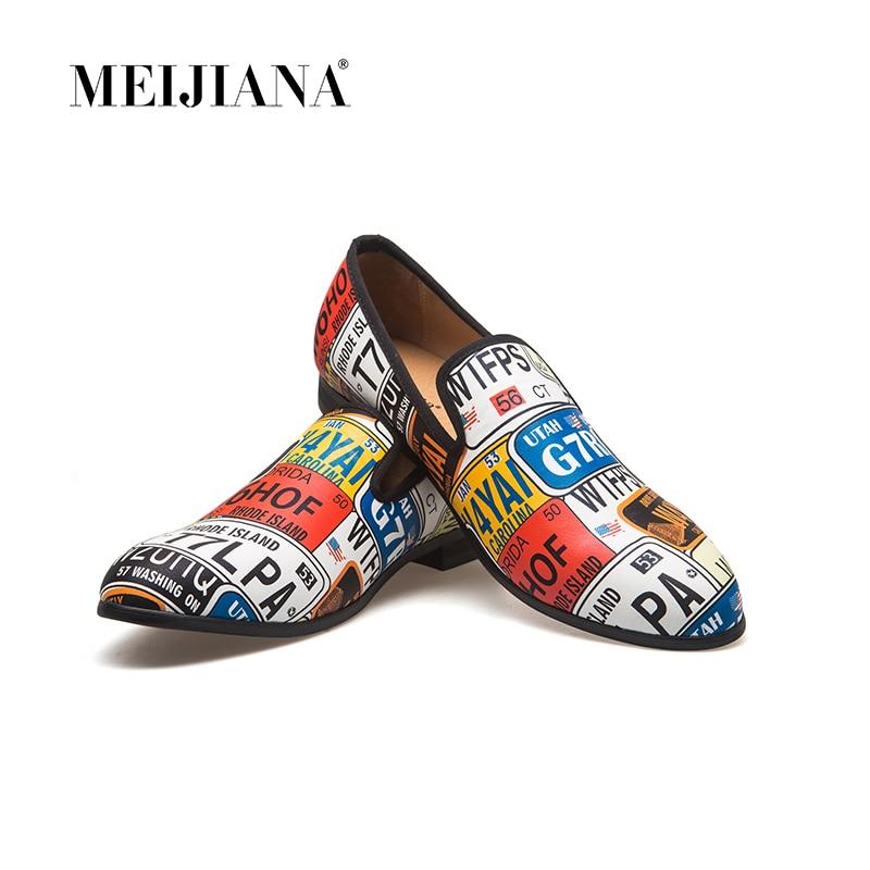 Brand Men Shoes MeiJiaNa Classic Style Black Men Dress Shoes