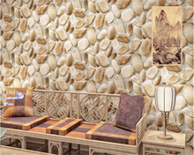 beibehang cobblestone colorful personality papel de parede wallpaper restaurant balcony teahouse tooling wall papers home decor