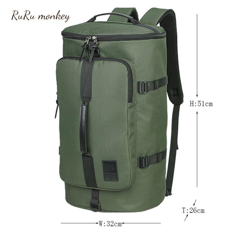 RURU monkey 40L Men Women Sport Bag Camping Bag Travelling Trekking Bag Military Tactical Backpack Camouflage