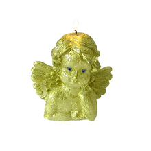 Thinking Angel Candle Silicone Mold 3D Handmade Soap Making Mould Craft Resin Clay Decorating Tool