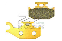 NOW Organic Brake Pads For Rear Left CAN AM SIDE X SIDE Commander Max 1000 DPS