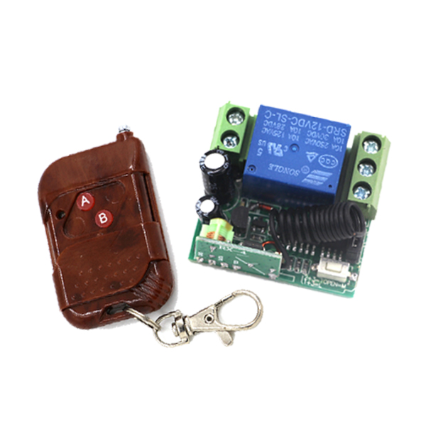 1 Set DC 12V 1CH RF Wireless Remote Control Switch System With 315/433 MHZ Transmitter and Receiver SKU: 5573 dc 12v 1 ch switch 1ch rf wireless remote control switch system 315 433 mhz 2 transmitter and 1 receiver