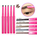Eyebrow Pencil Natural Waterproof Rotating Automatic Eye Brow Pencil Cosmetic Eyebrow Shaping Liner Pen