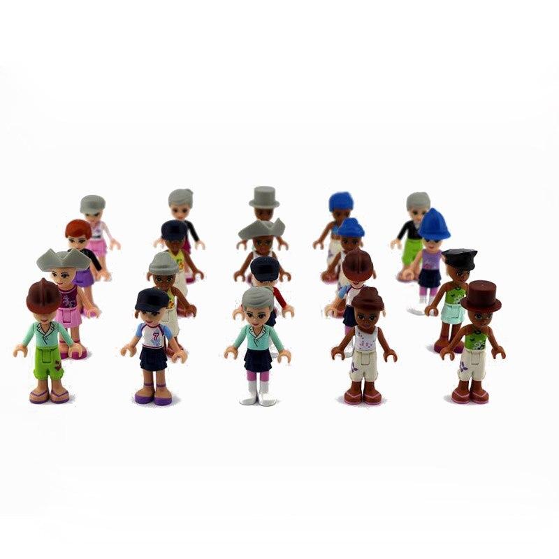 10Pcs 5cm DIY Blocks Summer Fun City Life Building Block model Kids Best Toys Gifts Random Shipments Playmobiles Assembly Toy