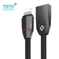 TOTU светодиодный освещения USB кабель быстрая синхронизации данных зарядный Зарядное устройство для iPhone X 8 7 Plus 6 6 S плюс 5S SE iPad Air мини кабель