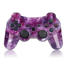 K ISHAKO for PS3 Controller Wireless Double Shock Gamepad for Playstation 3 Remote, Sixaxis PS3 Controller with Charging Cable все цены