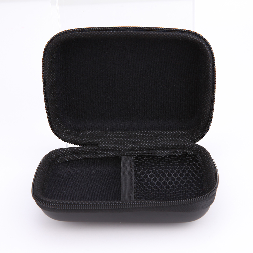 все цены на Storage Bag Mini Zipper Square EVA Case Headset Storage Box Bag Protective USB Cable Organizer Portable Earbuds Pouch Box New онлайн