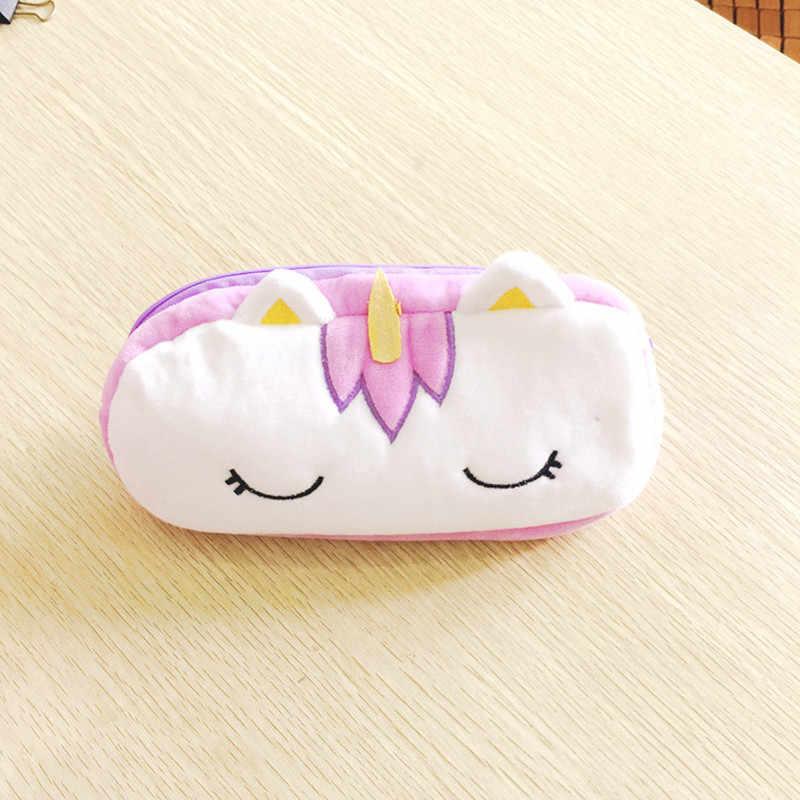 20 cm Nhồi Bông Sang Trọng Đựng Túi Ví Móc Chìa Khóa Kawaii Kỳ Lân Động Vật Anime Ví Quà Tặng Đồ Chơi oyuncak dành cho Trẻ Em Người Lớn