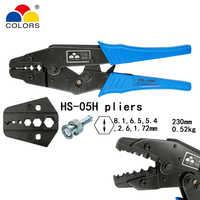 COLORS HS-05H coaxial crimping pliers RG55 RG58 RG59,62, relden 8279,8281,9231,9141 coaxial crimper SMA/BNC connectors tools