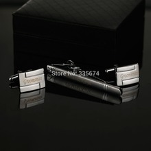 Personalized  Engraved Cufflinks and Tie Clip Sets with Gift Box  2014 New Fashion  High Quality   cufflinks tie clip set   цена в Москве и Питере