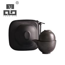TANGPIN japanese ceramic teapot teacups a tea sets portable travel tea sets with travel bag tangpin japanese ceramic teapot gaiwan teacups portable travel tea set with travel bag