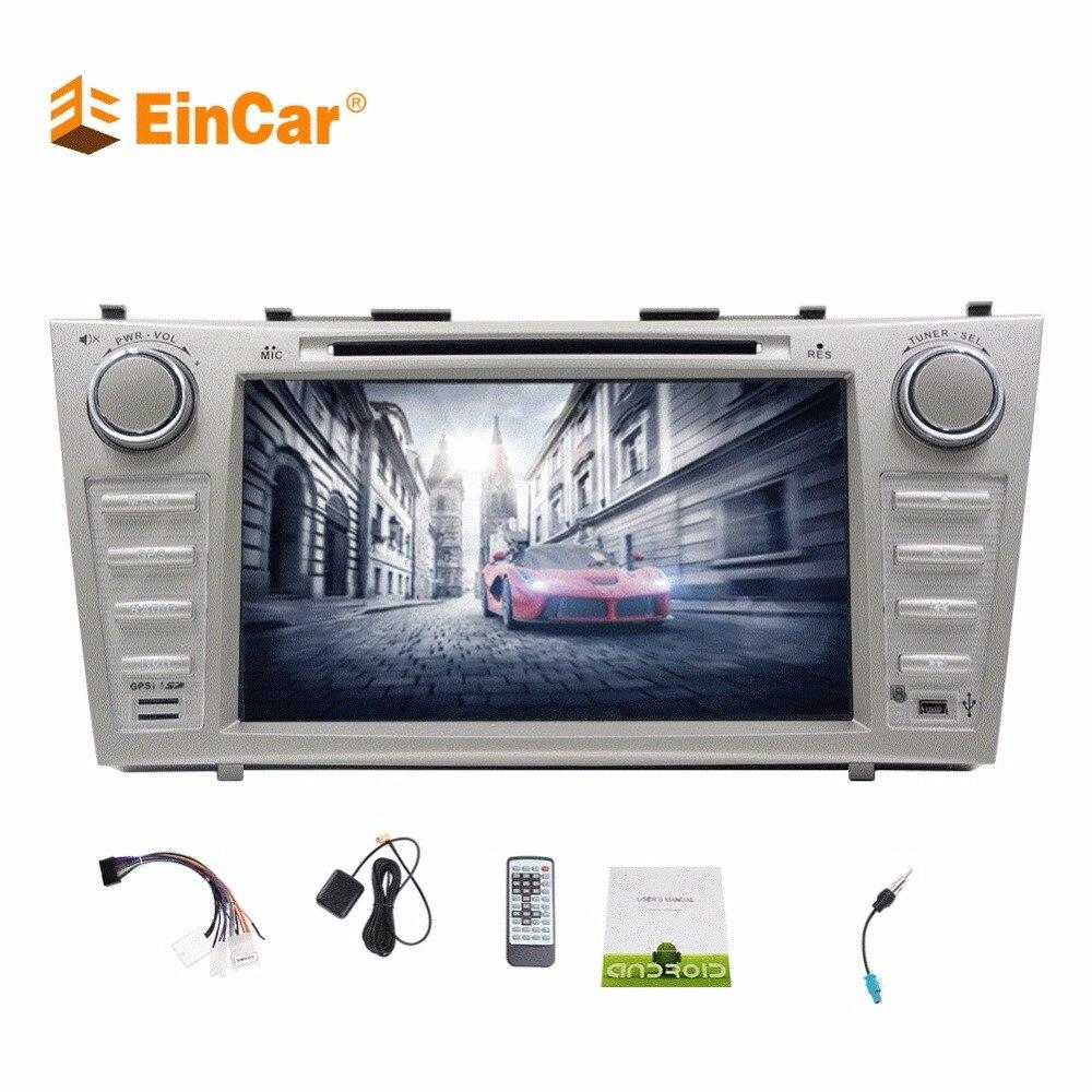 8 pouces octa-core autoradio écran tactile 2 Din voiture récepteur stéréo GPS Navigation tête unité FM/AM Radio CD DVD pour Toyota Camry