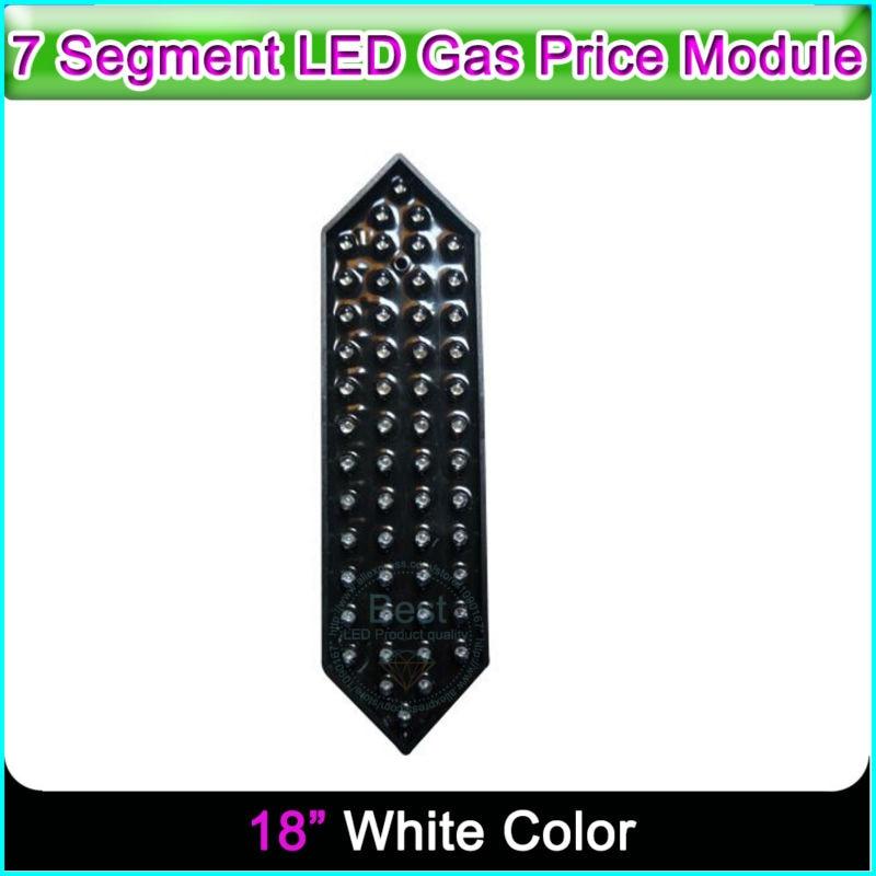18 White Color Remote Control LED Countdown Display 7 Segment Digita Numbers Module