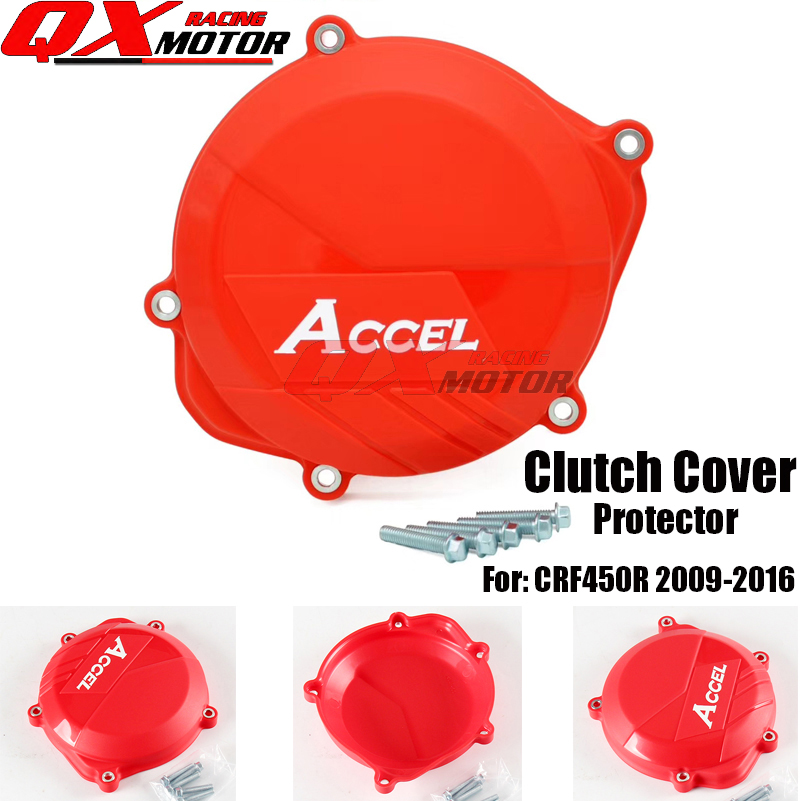 Motorcycle Plastic Clutch Cover Protector Protection Cover For CRF 450R CRF450R 2009-2016 MX Motocross Free Shipping