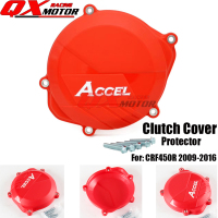 Motorcycle Plastic Clutch Cover Protector Protection Cover For CRF 450R CRF450R 2009 2016 MX Motocross free shipping