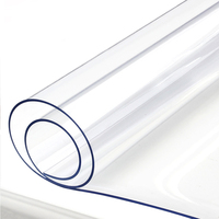 RAYUAN Thickness 1.5mm Transparency PVC Tablecloth Waterproof Party Wedding Home Kitchen Dining Placemat Pad