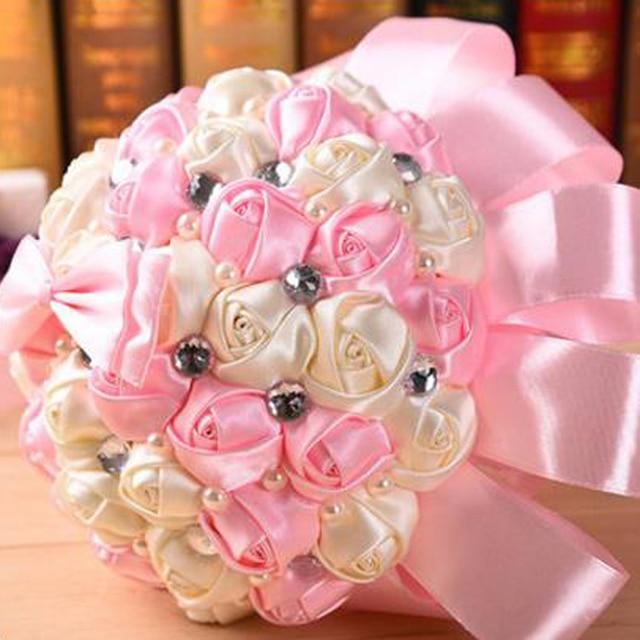 Orange Blue Pink Red Purple Royal Blue Wedding Bouquets Crystal ...