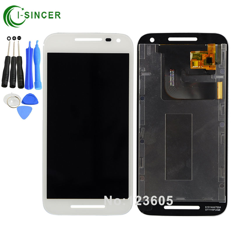 Black,White LCD For Motorola MOTO G3 3rd Gen G3 LCD Display Touch Screen Digitizer Assembly +Tools Free shipping new original lcd replacements for motorola moto g xt1032 xt1033 lcd display touch digitizer screen with frame assembly tools