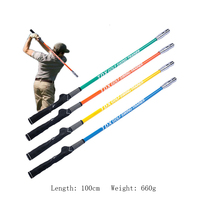 Golf Swing Trainer Stick Warm up Practice Aids for Beginner