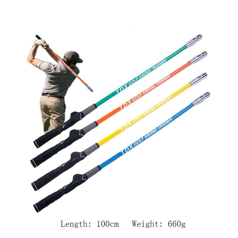 Bâton d'entraînement de balançoire de Golf aide à la pratique d'échauffement pour débutant