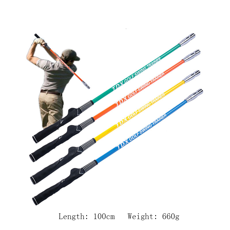 Golf Swing Trainer Stick Warm Up Practice Aids For Beginner
