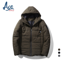 ACEMIRIZ 2017 Autumn Winter Cotton Padded Jacket Men Famous Brand Windproof Thin Warm Parka For Men Short Coat T26
