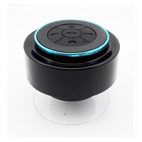 Mini Waterproof Bluetooth Speaker Shower Dustproof Speaker Shockproof Speakers mi speaker Hands Free with Suction Cup