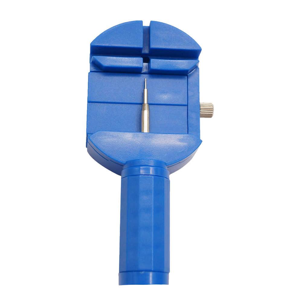 ערכת כלים לתיקון באיכות צפו בנד רצועת קישור פין-כחול פין Remover קישור להקת מסיר קישורי צמיד שעון יוקרה ידית כלים